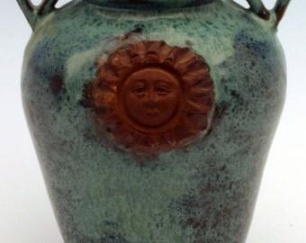 Sunshine Face Vase