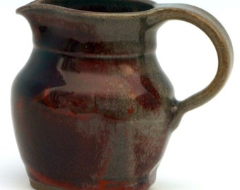 Red Syrup/Cream Pitcher