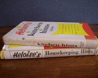 Vintage Set of 1963 Heloise Books of  Kitchen and Household Hints