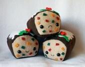 PLUSH (last one) - ONE SAD Fruitcake Plush by Michelle Coffee