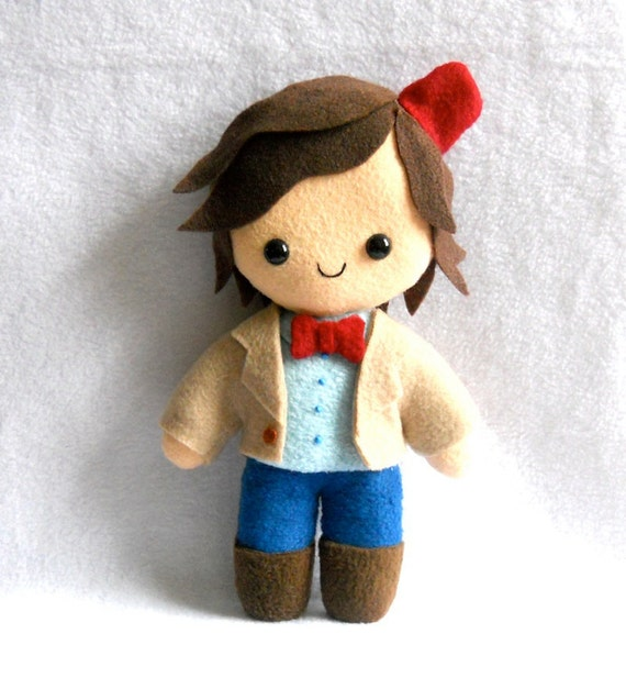 Matt Smith 11th Doctor Plush by Deadly Sweet