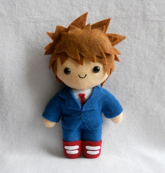 David Tennant 10th Doctor Plush by Deadly Sweet
