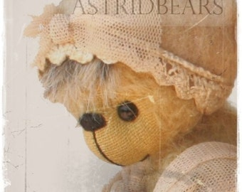 digital bear pattern Emilia by ASTRIDBEARS - PDF artist bear epattern Instant Download