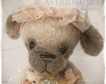 pattern dog Desiree 6 inch by ASTRIDBEARS - dog epattern PDF Instant Download