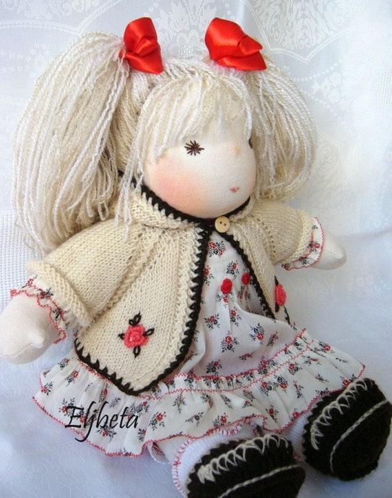 Waldorf doll Valentine