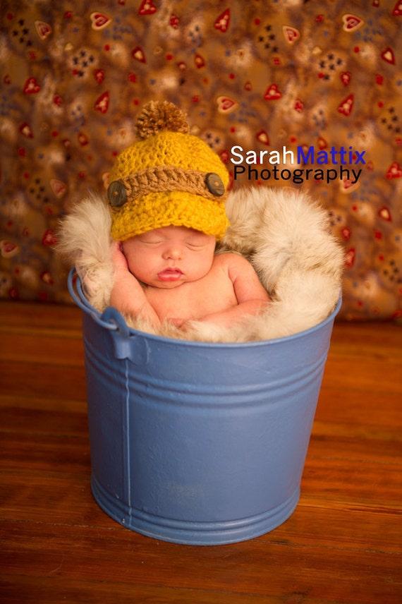 Vintage Inspired Newsboy Hat Cap Baby PHOTO PROP