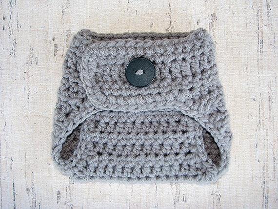 Crochet Pattern Central Diaper Cover : Crochet PATTERN Diaper Cover Newborn Diaper Cover Pattern