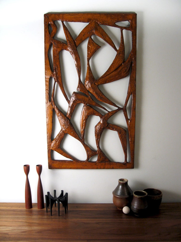 Mid-Century Danish Modern Wall Art large by ObjectOfBeauty