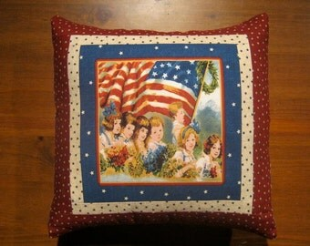 SALE, Americana, 4th of July, Accent Pillow