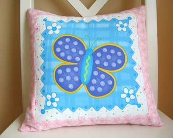 SALE, Butterfly Garden, Pillow