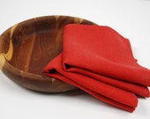 Red Linen Napkins