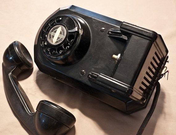 """AE Model 50 """"Juke Box"""" Wall Telephone"""