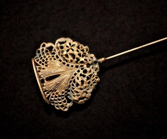 19th century s hat pin