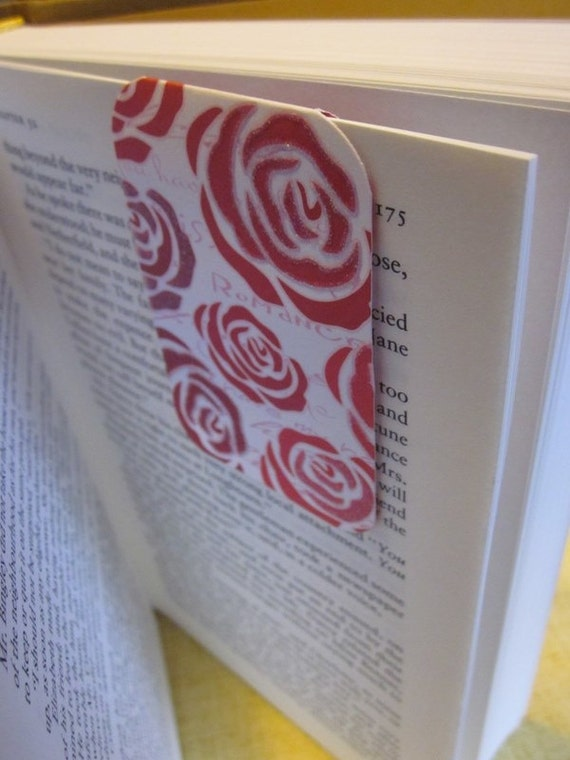 READY TO SHIP Roses are Red Magnetic Bookmark