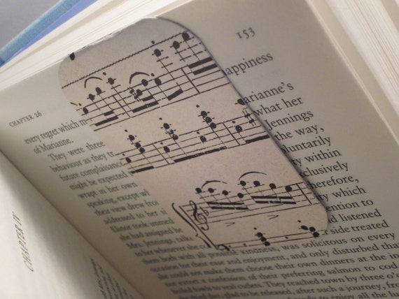 READY TO SHIP Magnetic Bookmark (Musically Inclined)