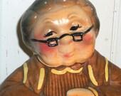 Vintage Cookie Jar - Granny Grandma