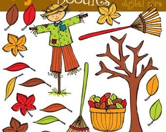 KPM Autumn fun Digital Clip art clipart