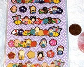 Japanese Stickers Kawaii Chiyogami Paper