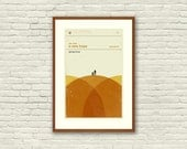 STAR WARS Inspired A New Hope Art Print Movie Poster - 12 x 18 Minimalist, Graphic, Mid Century Modern, Vintage Style, Retro Home