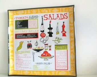 Retro Mid-Century Salad Party Tray