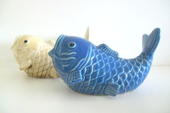 Retro Ceramic Fish