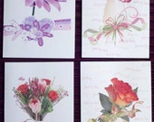 Thinking of You, Set of 4 blank notecards