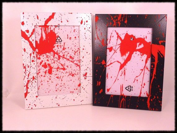 Blood Splatter Frame
