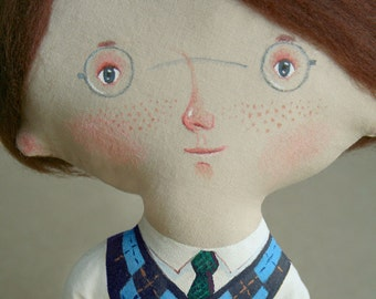 Little Gary by DreamsKingdom, English dandy Unique Art Doll