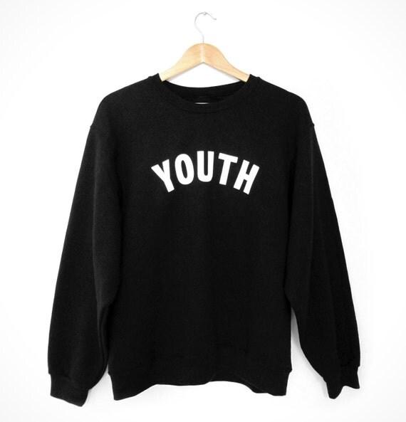 M&H YOUTH Sweatshirt - Black