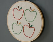 Apples Embroidery
