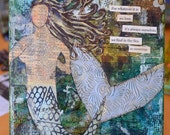 SHE -5- Mixed Media Painting on Canvas SOLD