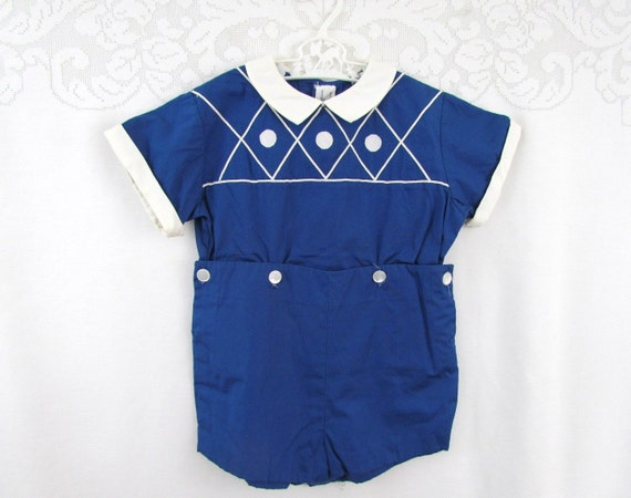 I. Magnin & Co Designer Boys Outfit by Florence Eisewau 1940s