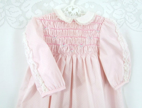 Vintage Polly Finders Baby Girls Dress