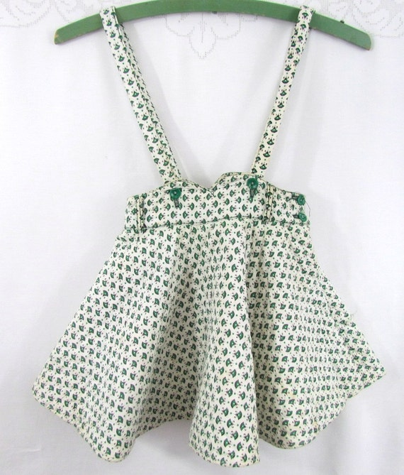 1940's Girls Skirt with Straps