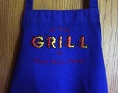 If You Grill It BBQ Apron for Dad ON SALE