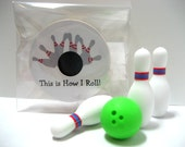 Bowling - This is How I Roll! - Funny Wood Magnet