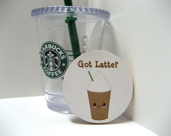 Got Latte? - Wood Magnet