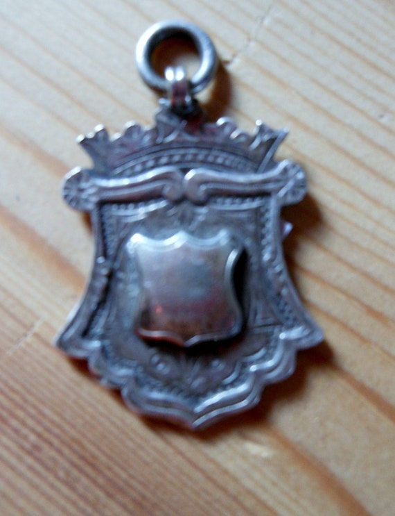 BELL Shaped Sterling Silver  Fob.c1920