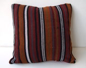 Anatolian - Turkish Rug Pillow Cover - kilim
