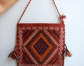 Boho Shoulder kilim bag
