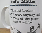 The Do It Yourself Dad Vintage Coffee Mug