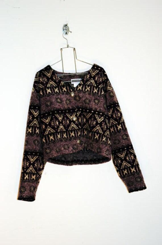 tribal cardigan short jacket