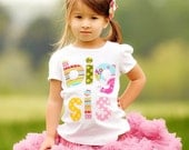 Size 18m Big Sister Shirt Applique Big Sis Girls Short Sleeved Shirt Ready to Ship