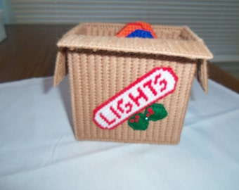 Boxed Christmas Lights Coaster Set