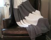 Grey Street Crochet Blanket