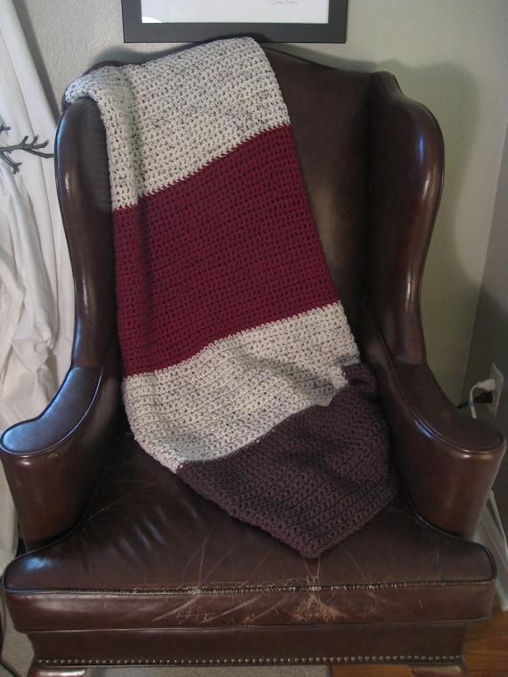 Neapolitan Crochet Blanket