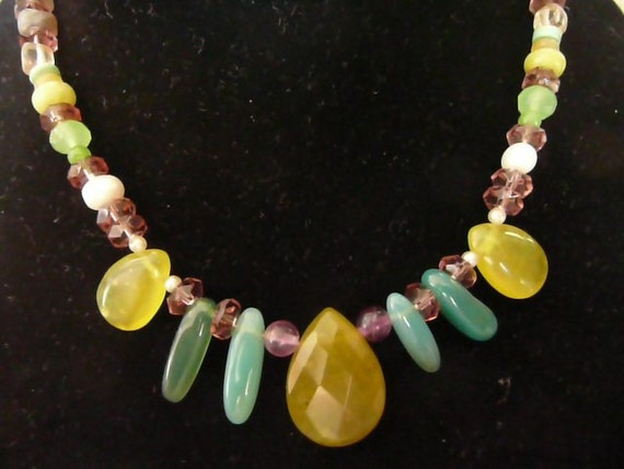 Alive in Peridot Necklace and Bracelet