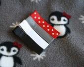 Penguin Chalet Hair Clips