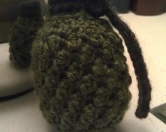 Crochet Hand Grenade PATTERN