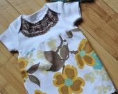 Newborn Dress and Crochet Hat Set sz. Newborn